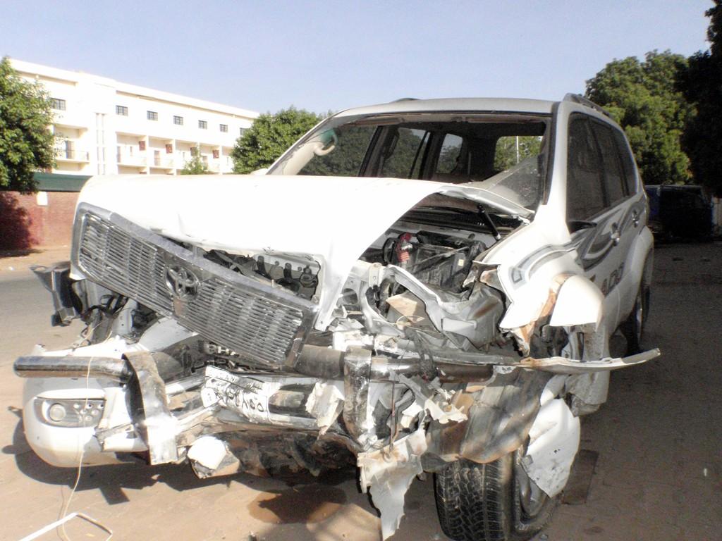 4x4 défoncé, Khartoum, Soudan