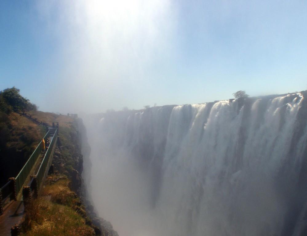 Chutes Mosi-O-Tunya (Les chutes Victoria), Livingstone, Zambie