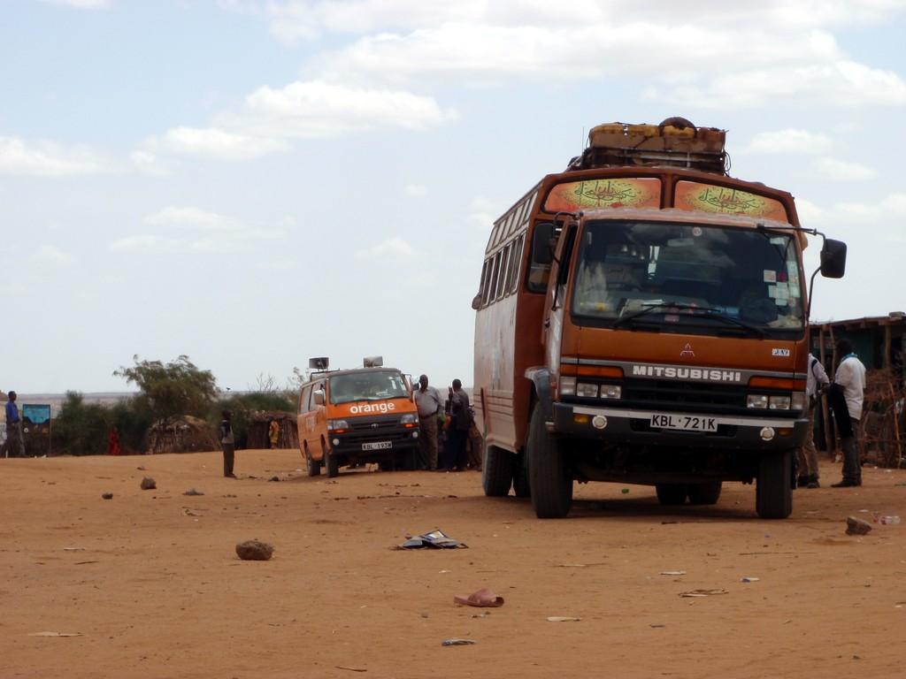 Mon matatu en direction de Moyale, Kenya