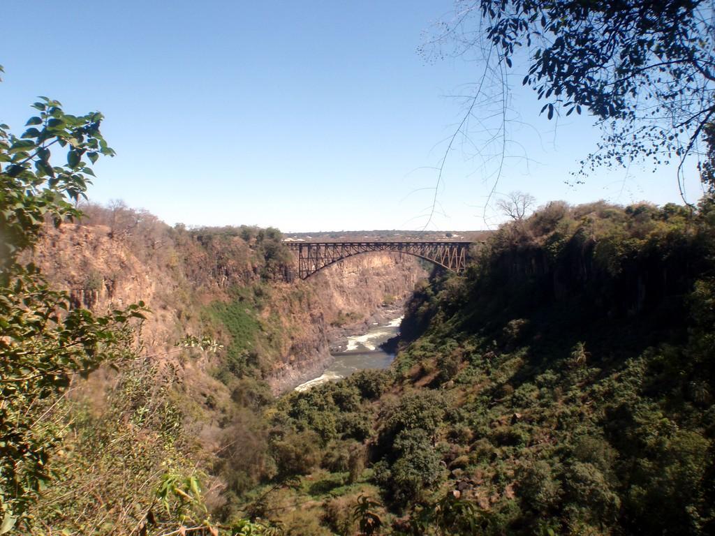 Pont-frontière entre la Zambie et le Zwimbabwé