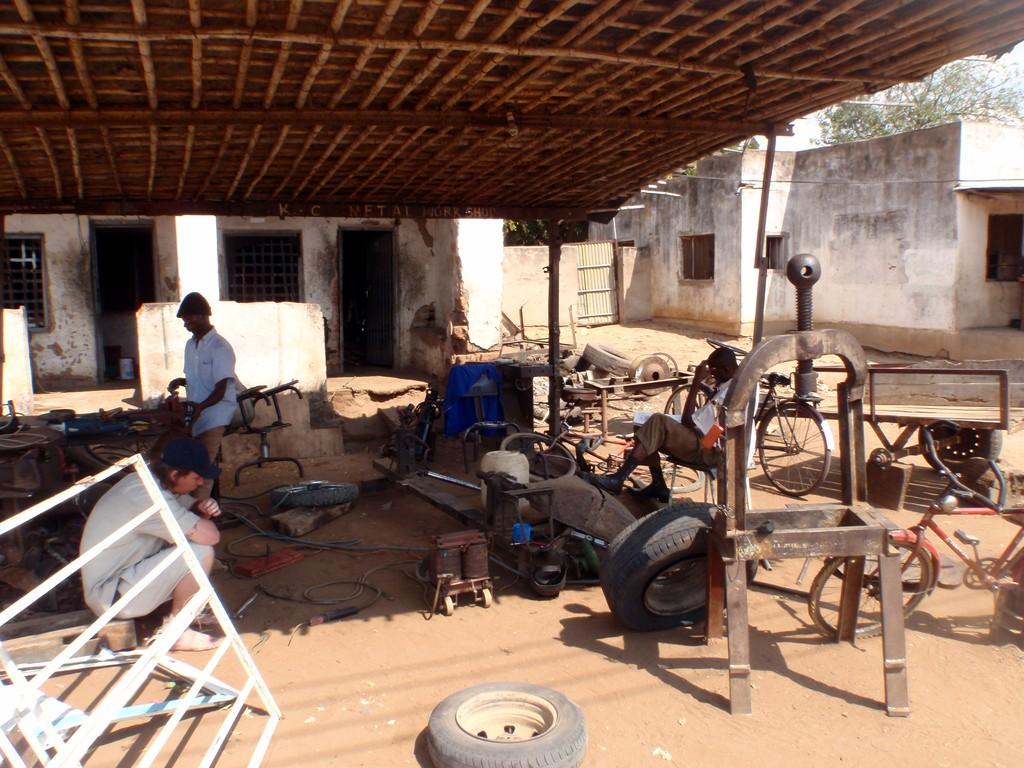 Garage auto, Bangula, Malawi