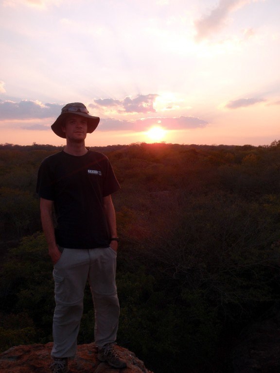 Sommet rocheux de la Mwabi Game Reserve, Bangula, Malawi