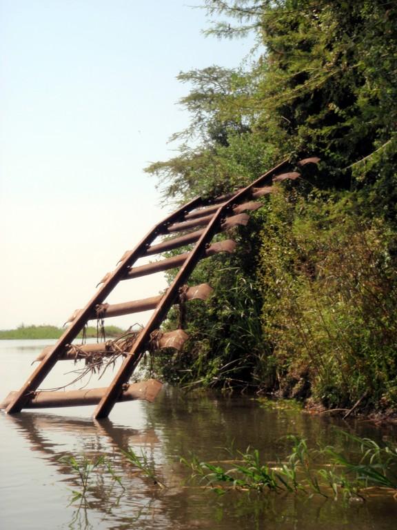 Le rêve d'une ligne de train entre le Caire et Cape Town s'arrête sur la Shire River depuis bien longtemps, Bangula, Malawi