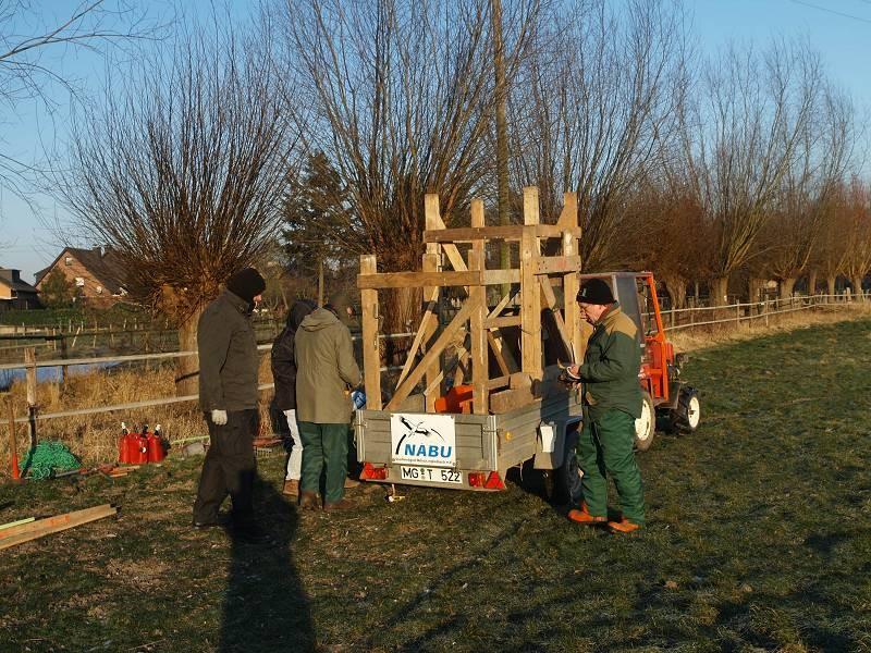 Kopfbaumpflege am Knippertsbach: Ankunft