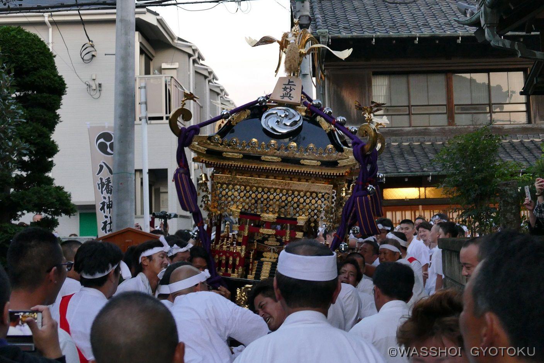 神社の参道に入ったら宮入りとします