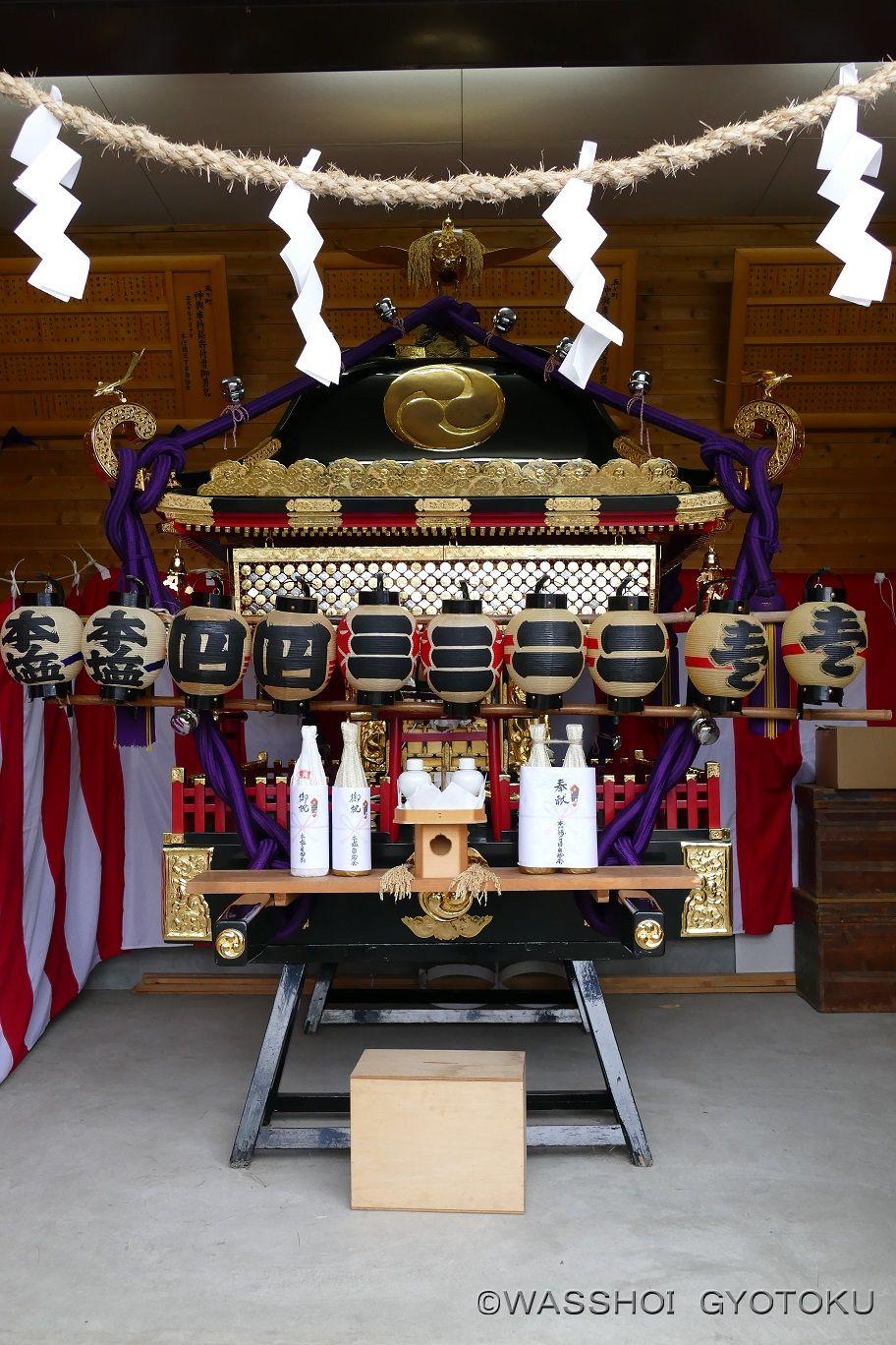 五ヶ町の神輿