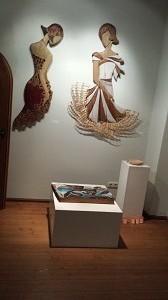 Leben im Holz Peter Walter beteiligt sich an der Ausstellung im Wasserschloss Kaffenbach Chemnitz
