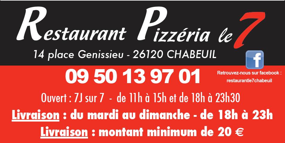 Restaurant Pizzeria Le 7
