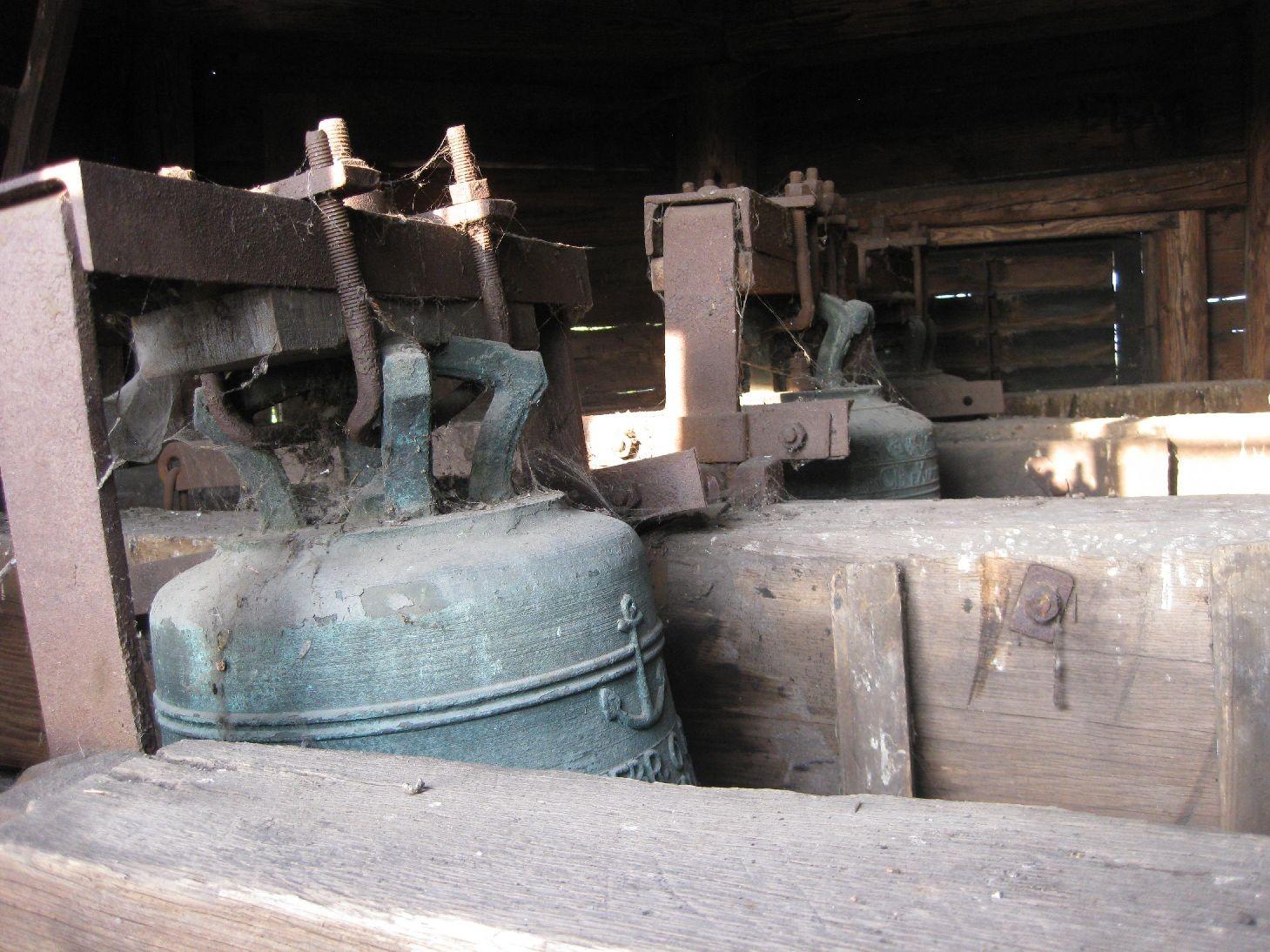 Blick auf die Glocken