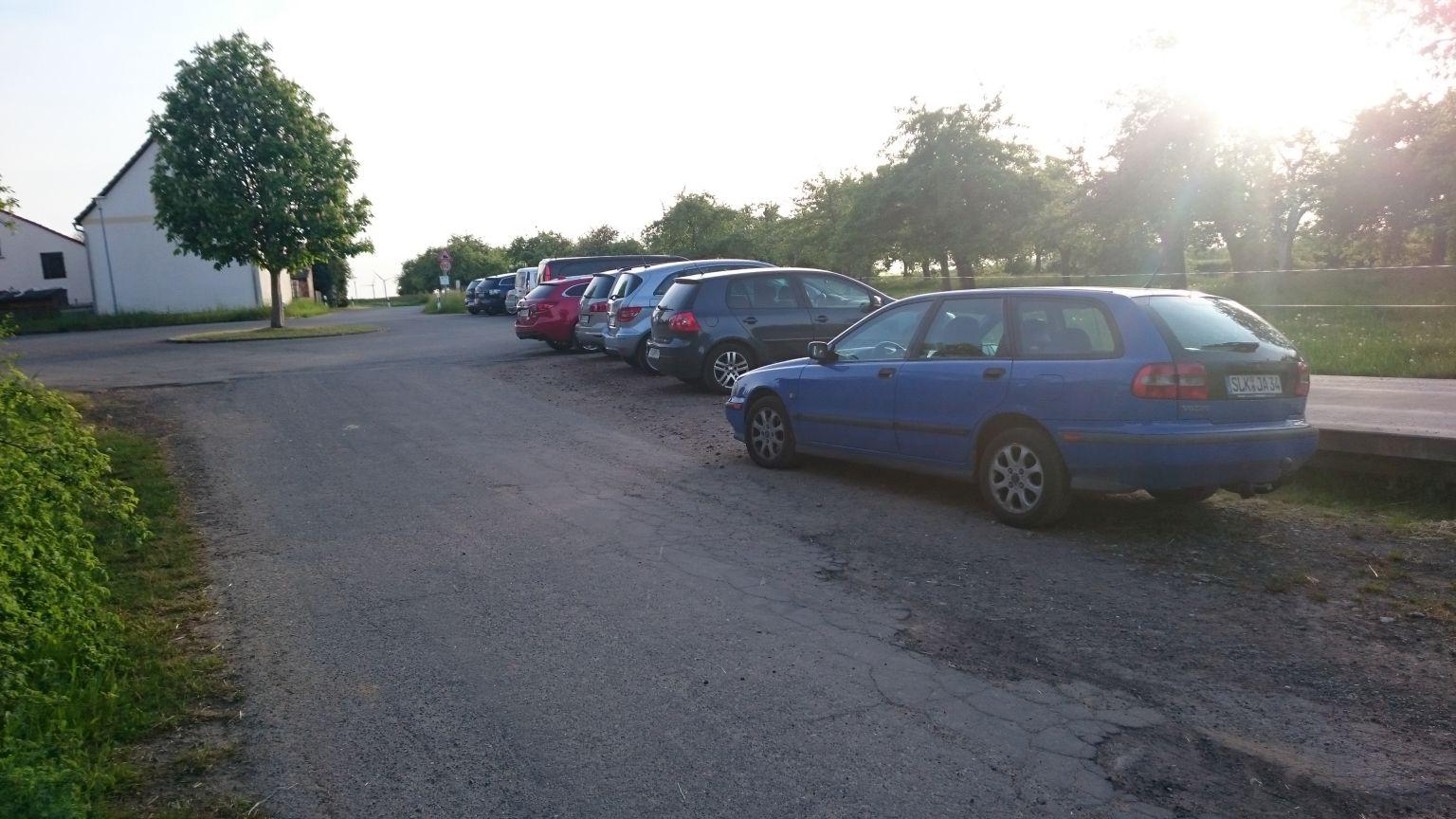Parkplatz in Dobraschütz