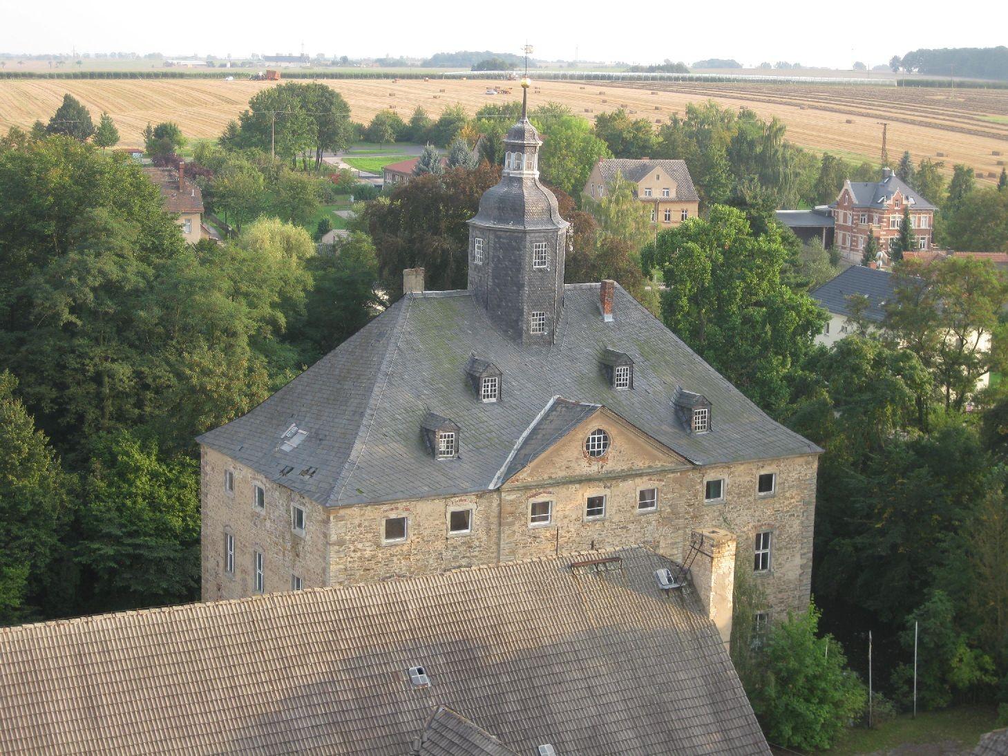 Das Wasserschloss - Blick auf Dobitschen II