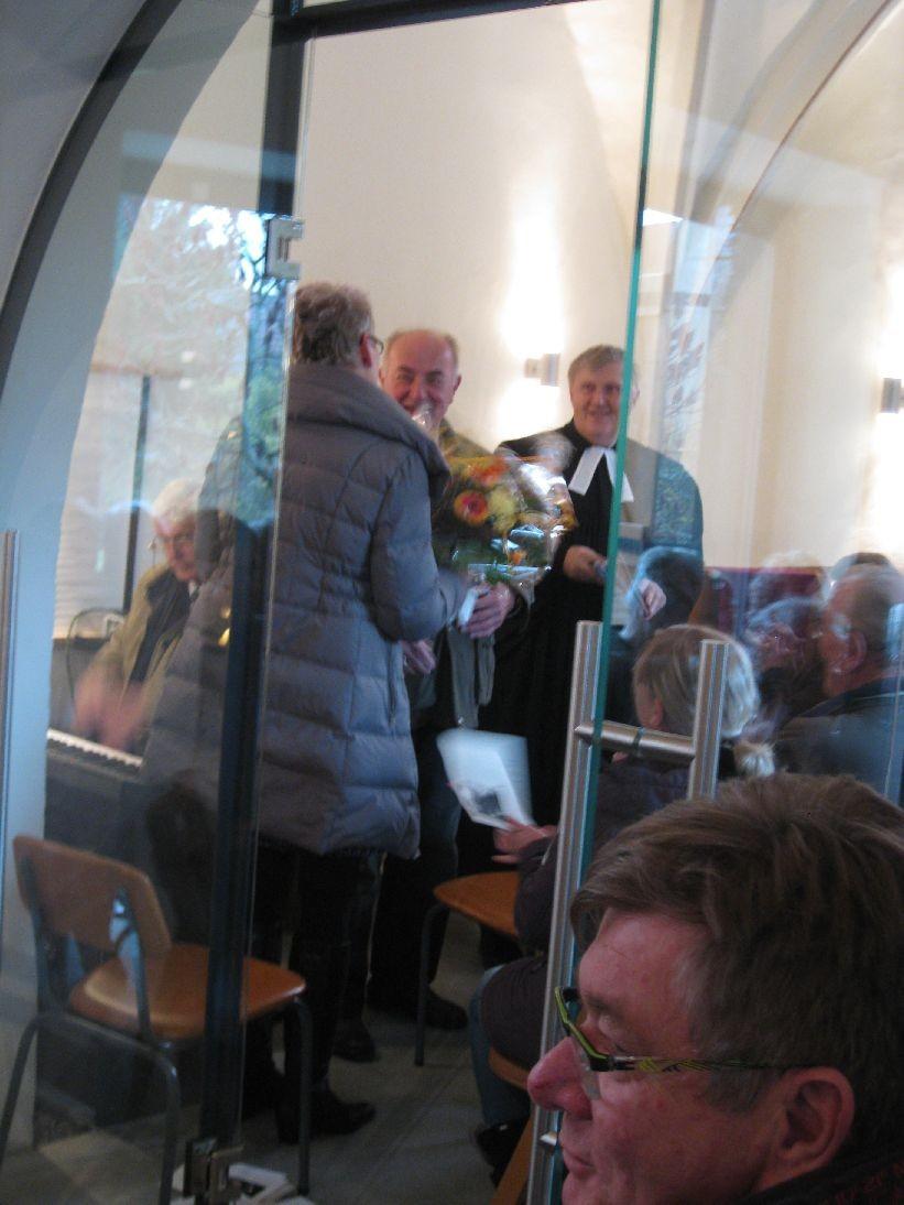 Die Kirchgemeinde Mehna dankt Monika Reuer