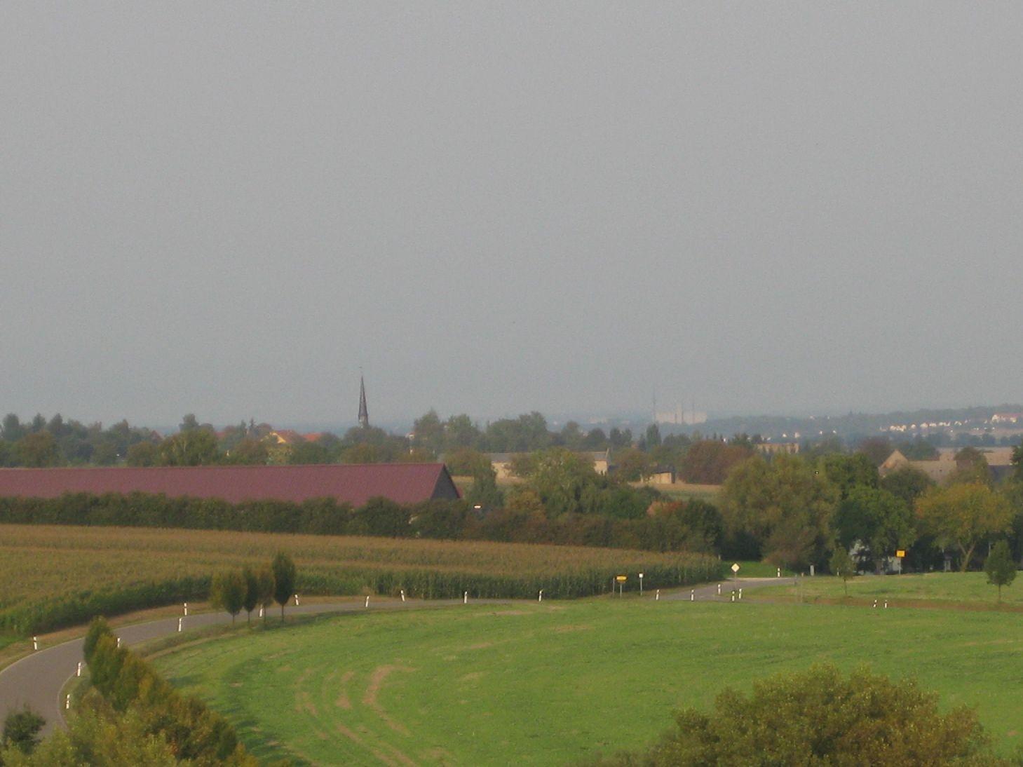 Blick Richtung Mehna ins Altenburger Land