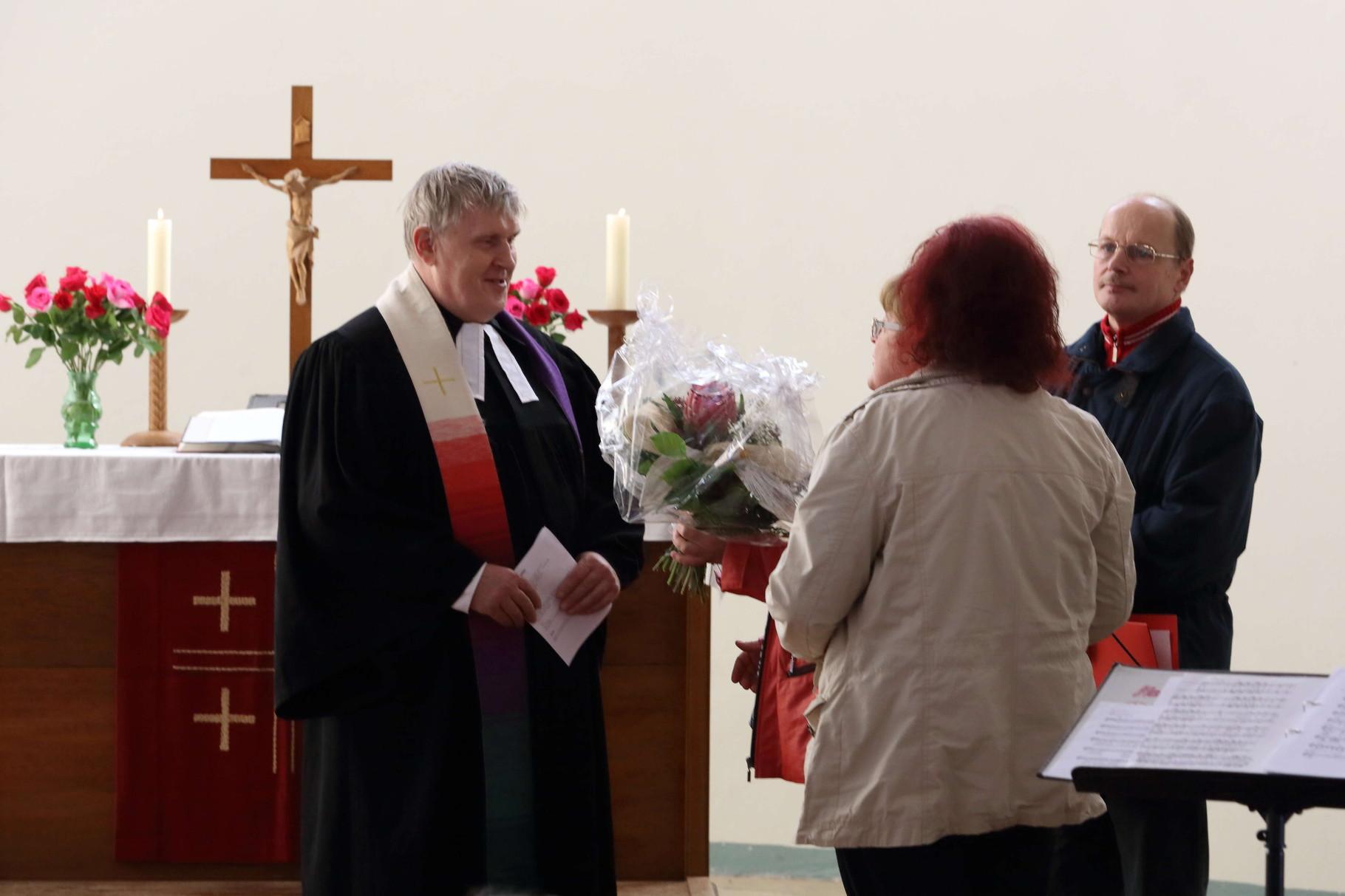 Die Glückwünsche vom Kirchspiel