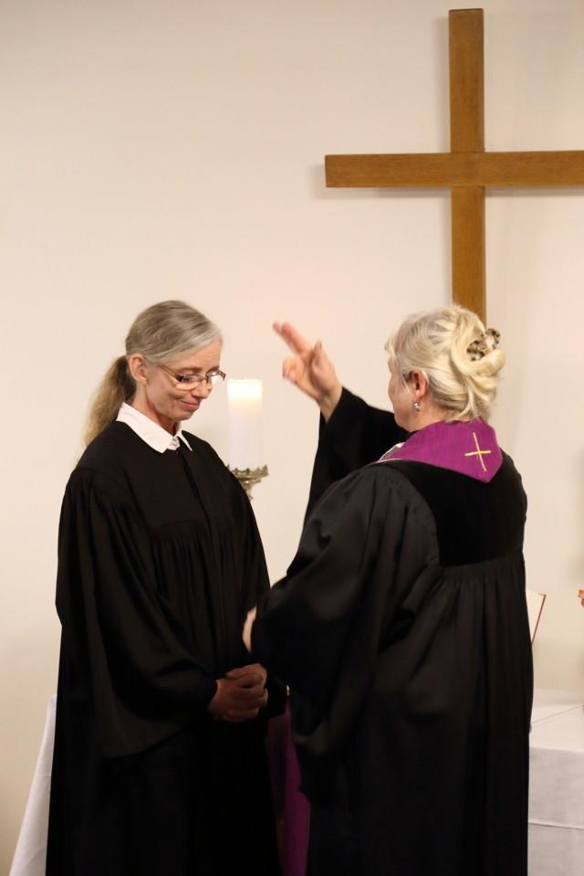 Einsegnung von Pfarrerin Mönnich