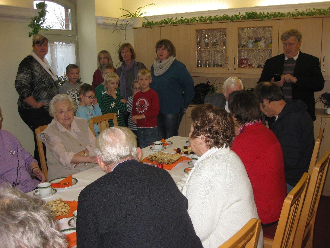 Weihnachtliches Programm im Anschluss im Kaisersaal