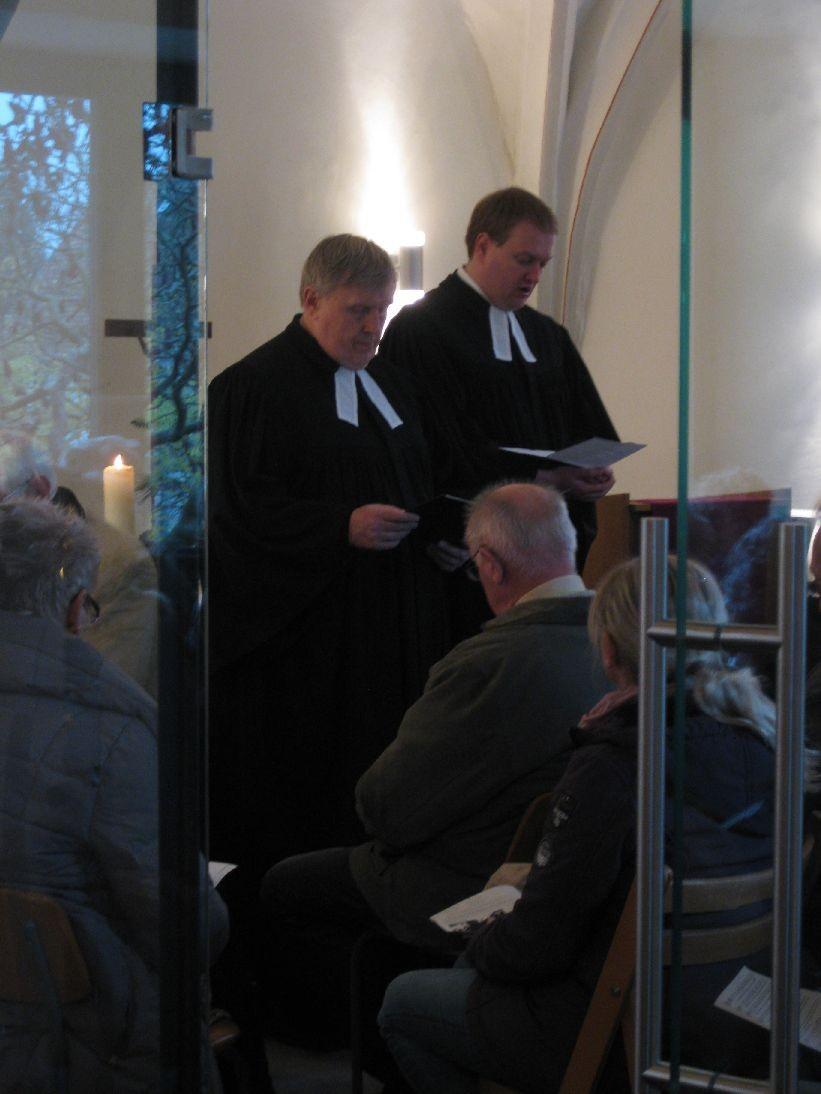Zwei Pfarrer im Wechsel sorgen für viel Abwechslung