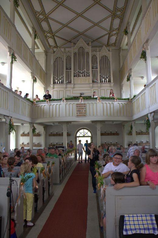 """Das Schulkonzert - der """"heimliche"""" Höhepunkt in einer vollen Kirche"""
