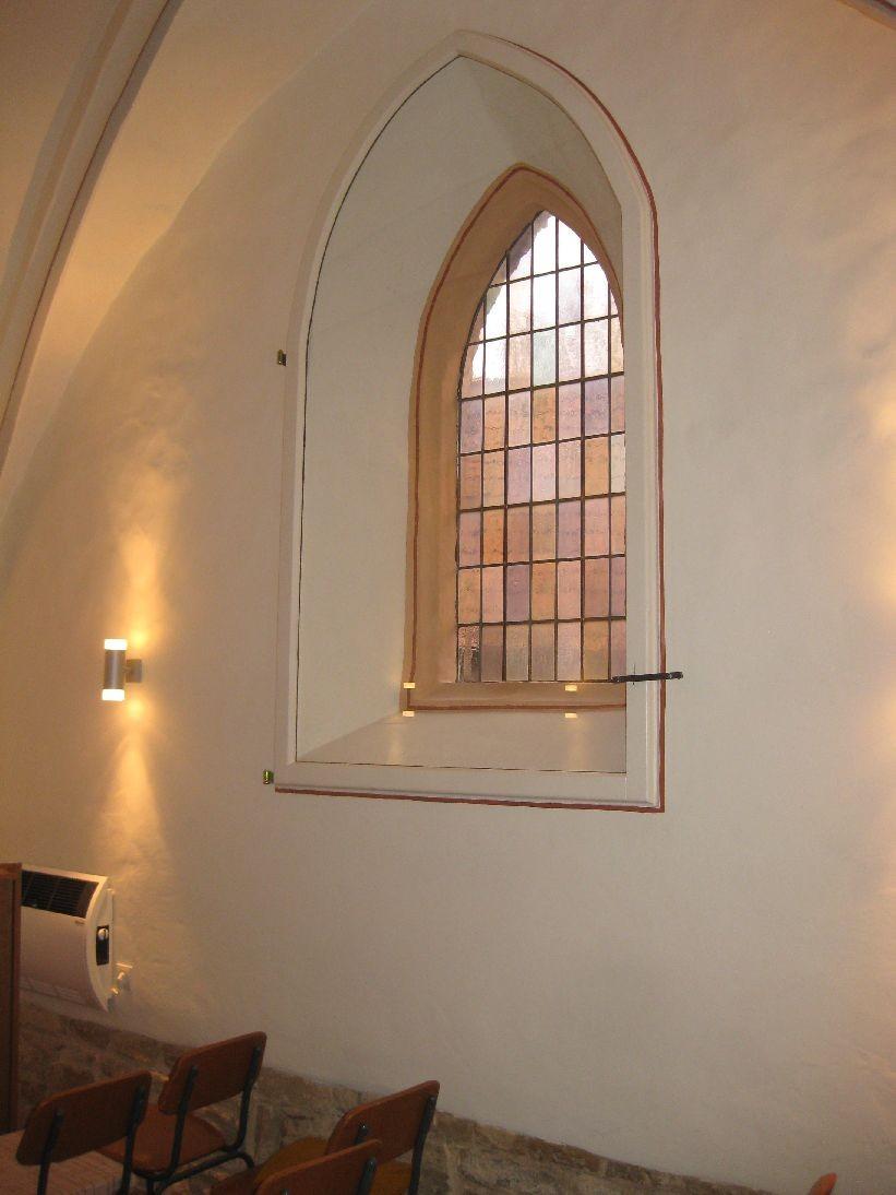 Das Fenster wirkt wie neu
