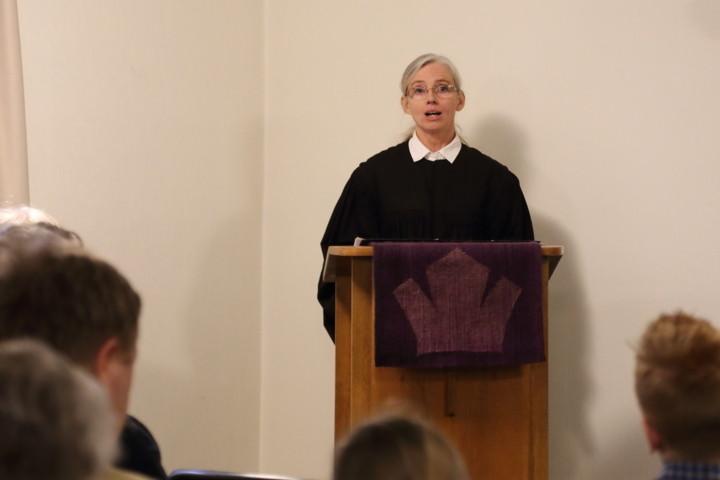 Die erste Predigt als eingesegnete Pfarrerin unseres Kirchspiels