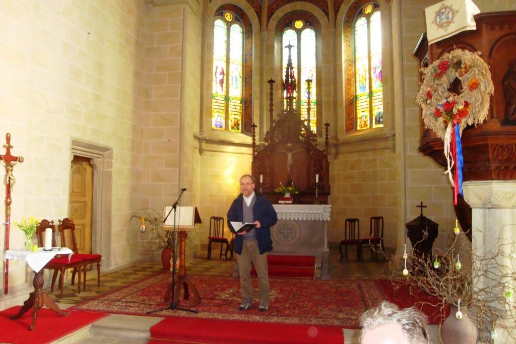 Mittagsgebet in Altkirchen