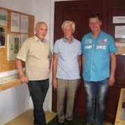 Gerhard Kühn, Leo Neumayer und Volker Thurm
