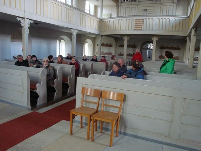 In der Kirche Großröda