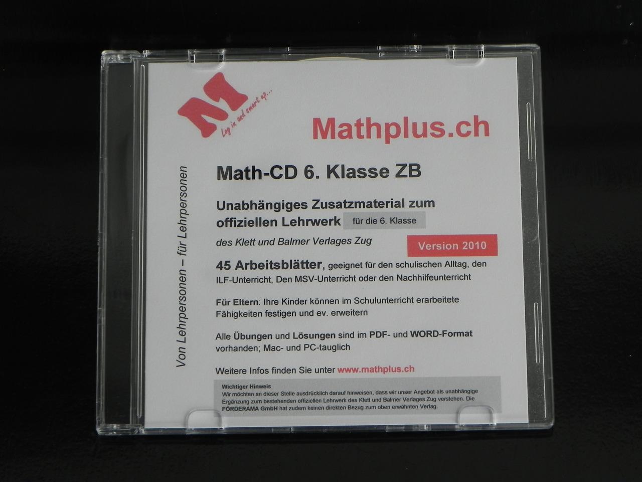 MATHPLUS - LehrmittelPLUS - Lehrmaterial für die Praxis