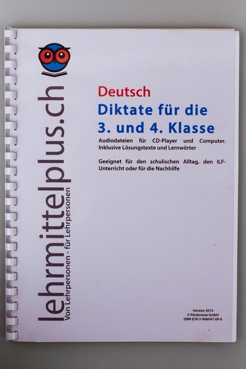 D Diktate 3./4. Klasse - LehrmittelPLUS - Lehrmaterial für die Praxis