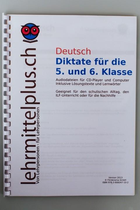 D Diktate 5./6. Klasse - LehrmittelPLUS - Lehrmaterial für die Praxis
