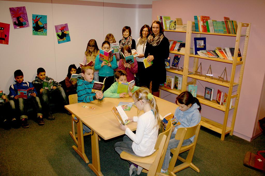 Einweihung Leseraum Grundschule