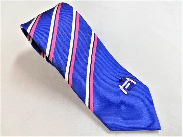 馬主さんのネクタイ