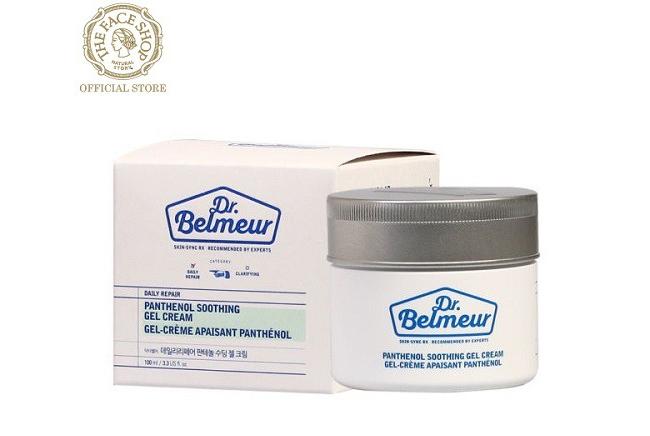 Kem Dưỡng Da DR.BELMEUR DAILY REPAIR PANTHENOL SOOTHING GEL CREAM