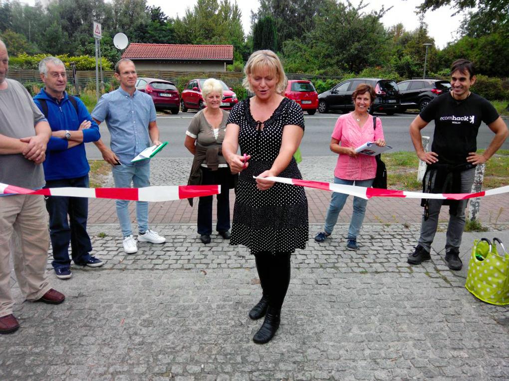 Quelle-Foto: Gfrd. R.Arndt / Eröffnung des Lehrpfades