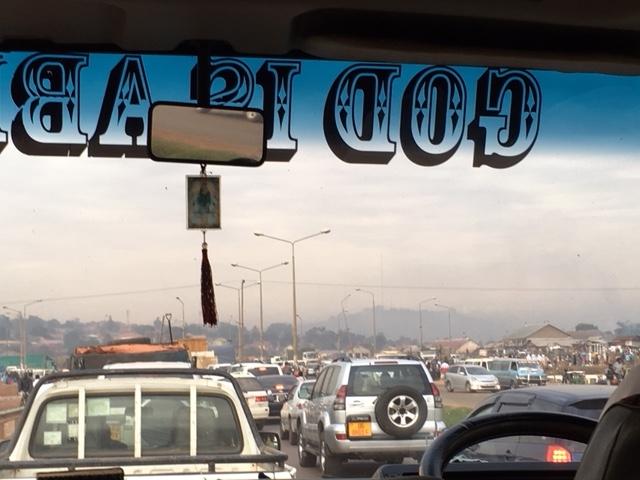Verkehr in Kampala, Uganda (© Brühl Stiftung)