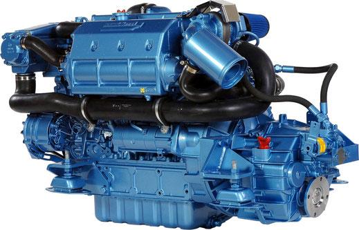 Nanni Diesel N4.115 für das treibstoffsparende Verdränger-Motorboot