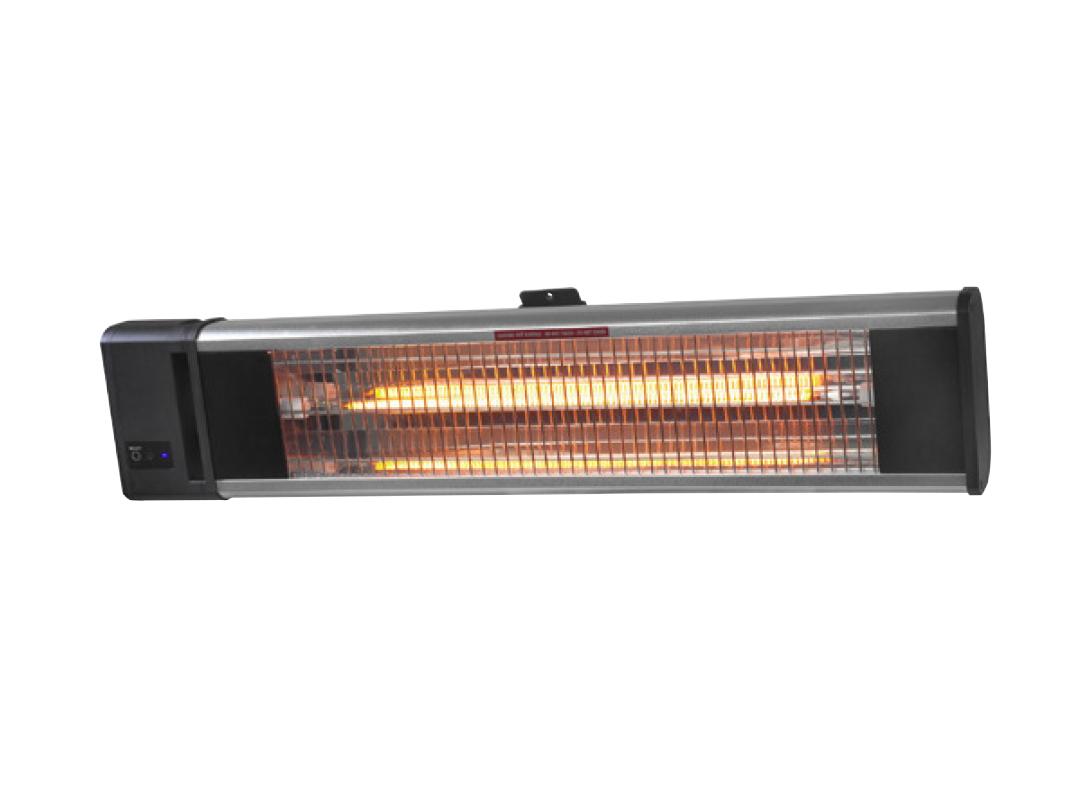 PRODUCT OMSCHRIJVING TH 1800R VERWARMING De TH 1800R heater van Gardendreams heeft een capaciteit van 1800 Watt en beschikt over een Carbon lamp met een maximaal bereik van 14 m². Deze heater wordt geleverd met afstandsbediening.