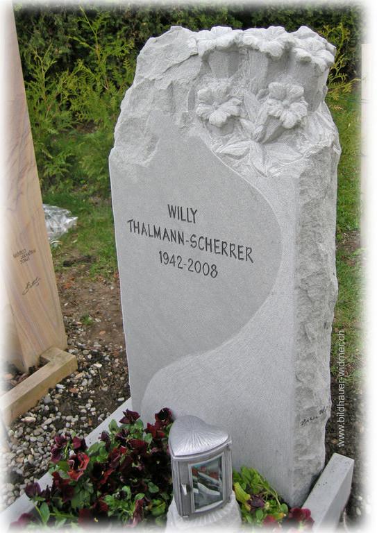 Grabstein Paul Widmer Bildhauer