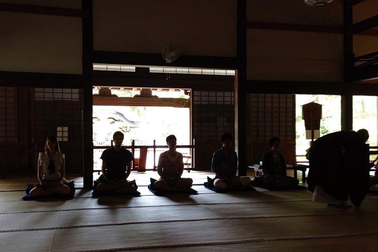 建長寺座禅会