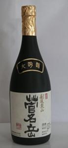 越後五泉の名峰・菅名岳の豊かな湧き水を使った清酒「菅名岳」が有名な『近藤酒造』。
