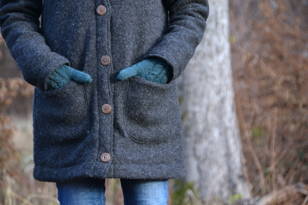 Gedanken zum Nähen ... und: PICEA wird zum Wintermantel