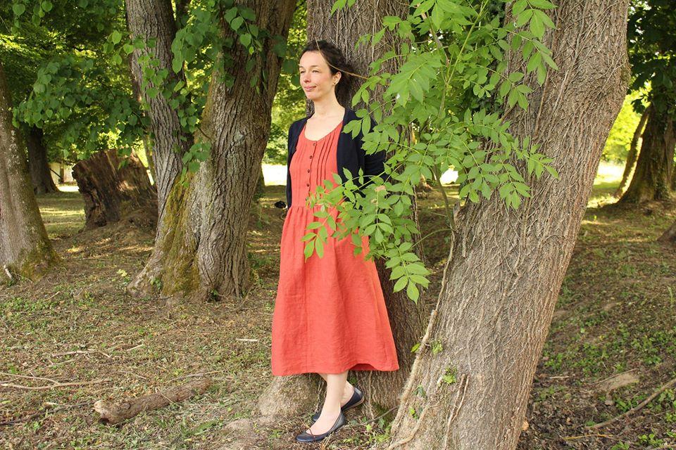 Kleid ACACIA: Designbeispiele aus dem Probenähen