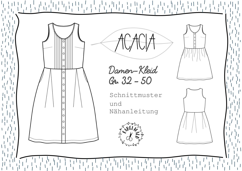 Neues Schnittmuster: Das Kleid ACACIA