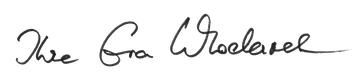 Unterschrift - Ihre Eva Wlodarek