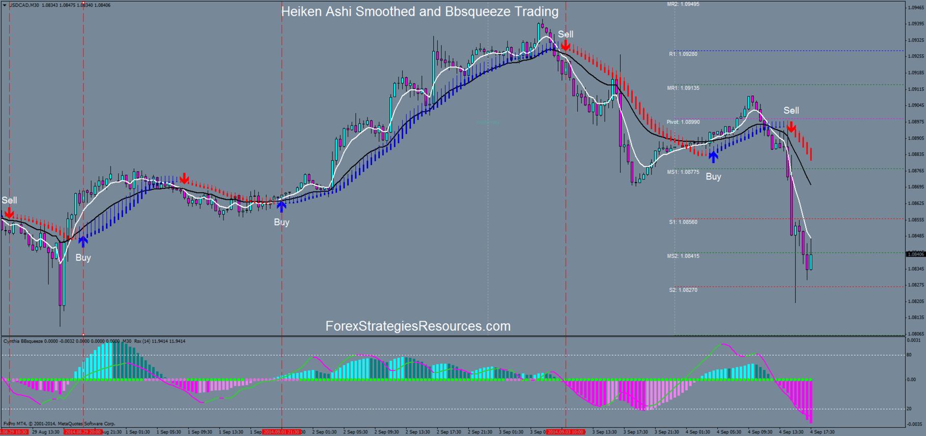 Heiken snake forex trading system