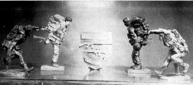 Combat Sculpture