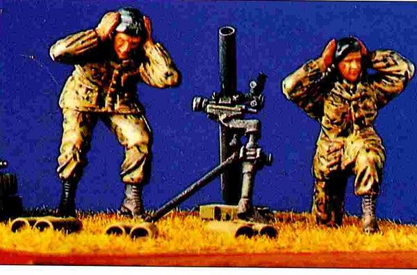 Dartmoor Military Models Brit. Mortar set