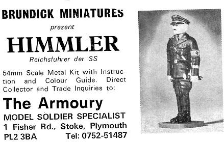 Brundick Miniatures Himmler 54mm
