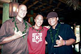 Sam Bonanno, Ben Ahn, and Derick Sebastian