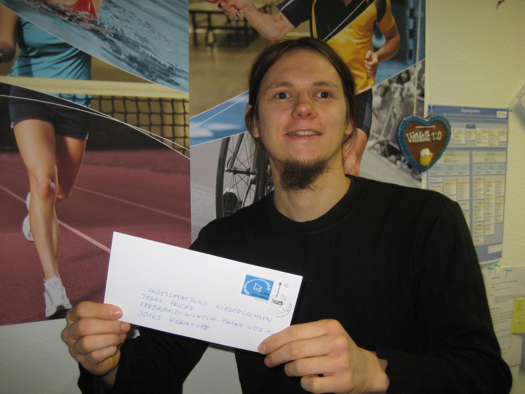 Tobias Fricke vom LandesSportBund Niedersachsen
